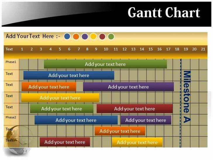 Ppt Gantt Chart Template Inspirational Fice Timeline 1 Free Timeline Maker Gantt Chart Creator