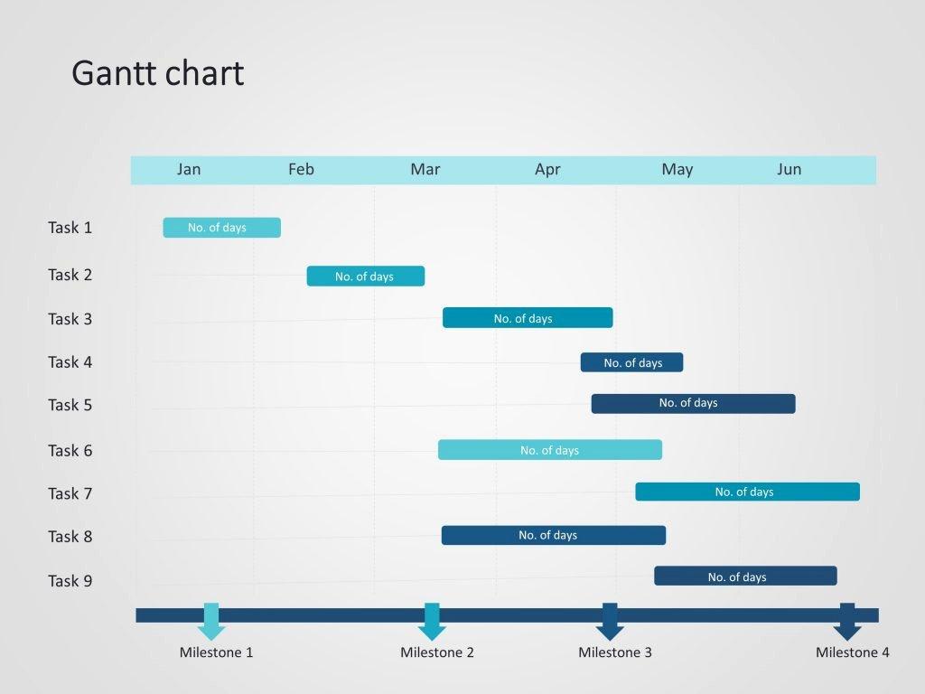 Ppt Gantt Chart Template Inspirational Gantt Chart Powerpoint Template 11