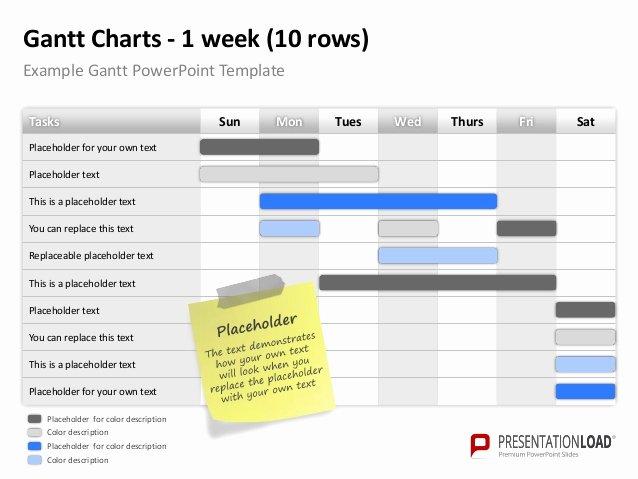 Ppt Gantt Chart Template New Powerpoint Gantt Charts Template