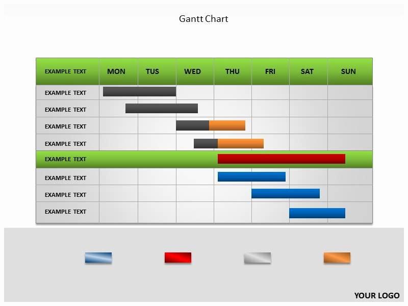 Ppt Gantt Chart Template Unique Gantt Chart Powerpoint Templates and Backgrounds