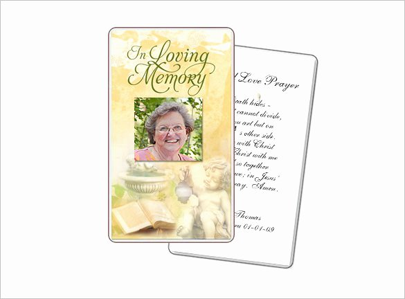 Prayer Card Template for Word Beautiful 16 Obituary Card Templates Free Printable Word Excel