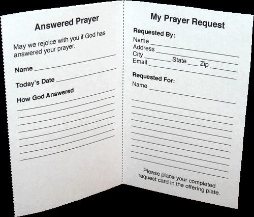 Prayer Card Template for Word Beautiful 17 Best Images About Work On Pinterest