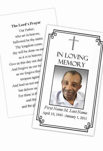 Prayer Card Template for Word Best Of Classic Cross Prayer Card Template