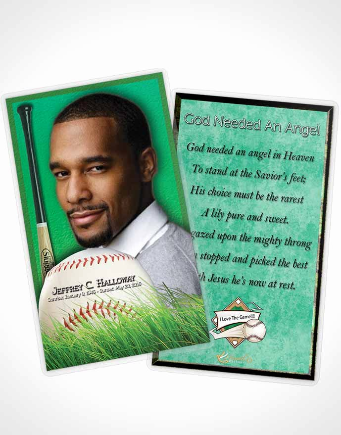 Prayer Card Template for Word Inspirational Prayer Card Template forest Magic Baseball Star Light