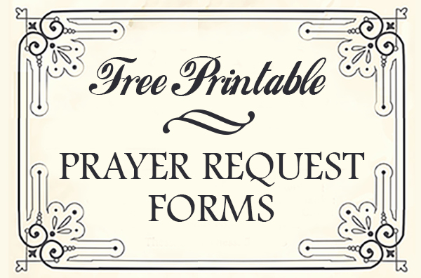 Prayer Card Template for Word Unique Free Printable Prayer Request forms Time Warp Wife
