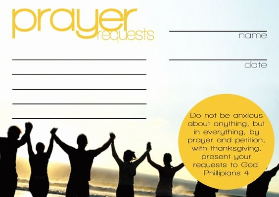 Prayer Card Template for Word Unique Pinterest • the World's Catalog Of Ideas