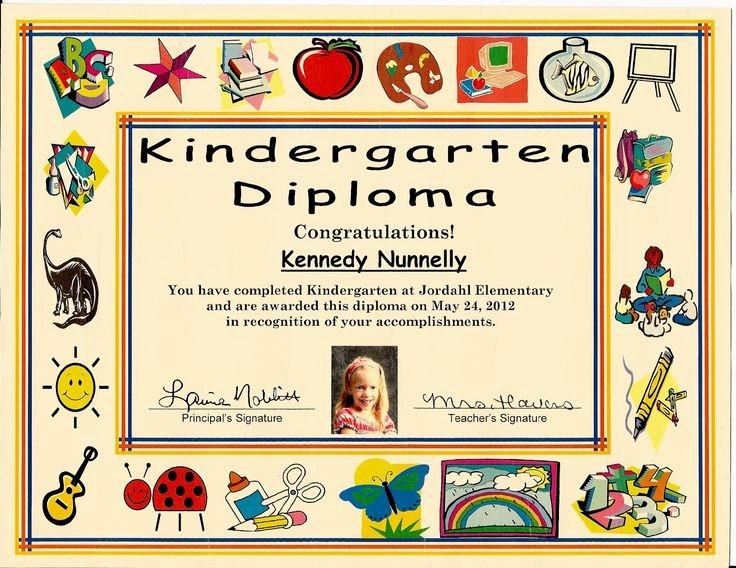 Preschool Graduation Certificate Template Free Awesome 18 Best Graduation Certificates Images On Pinterest