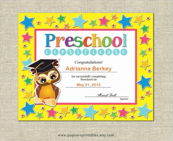 Preschool Graduation Certificate Template Free Best Of Graduation Certificate Template 9 Premium and Free
