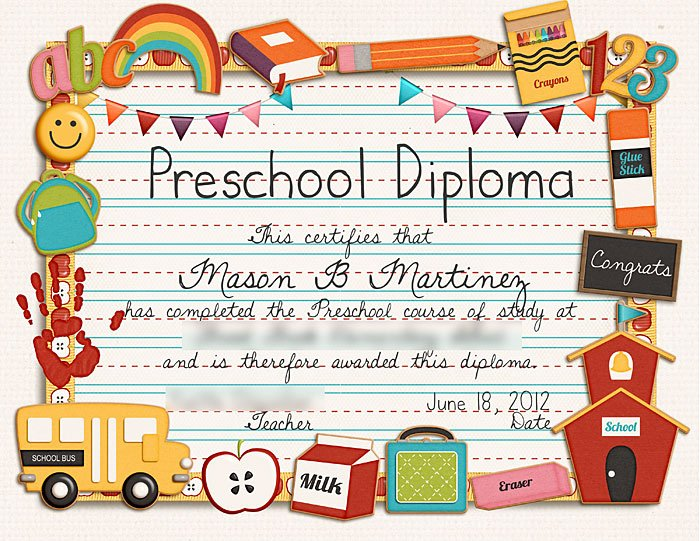 Preschool Graduation Certificate Template Free Best Of Sweet Shoppe Designs – the Sweetest Digital Scrapbooking