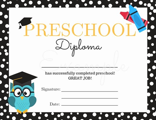 Preschool Graduation Certificate Template Free Fresh 14 Preschool Graduation Certificate Designs & Templates