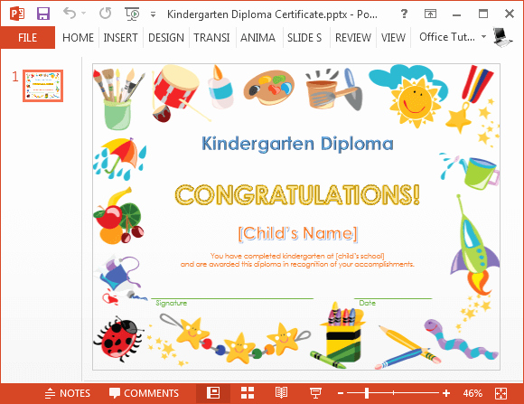 Preschool Graduation Certificate Template Free Lovely How to Make A Printable Kindergarten Diploma Certificate