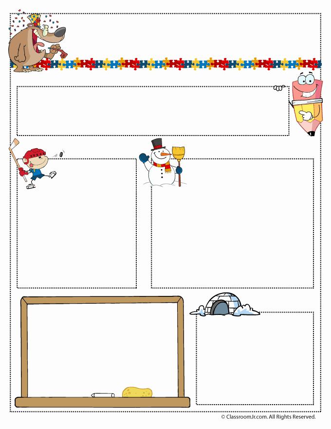 Preschool Weekly Newsletter Template Lovely January Teacher Newsletter Template