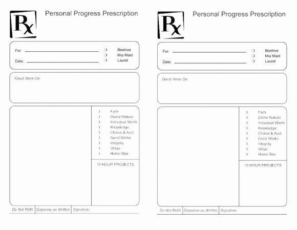 Prescription Pad Template Pdf Luxury Prescription Label Template Download