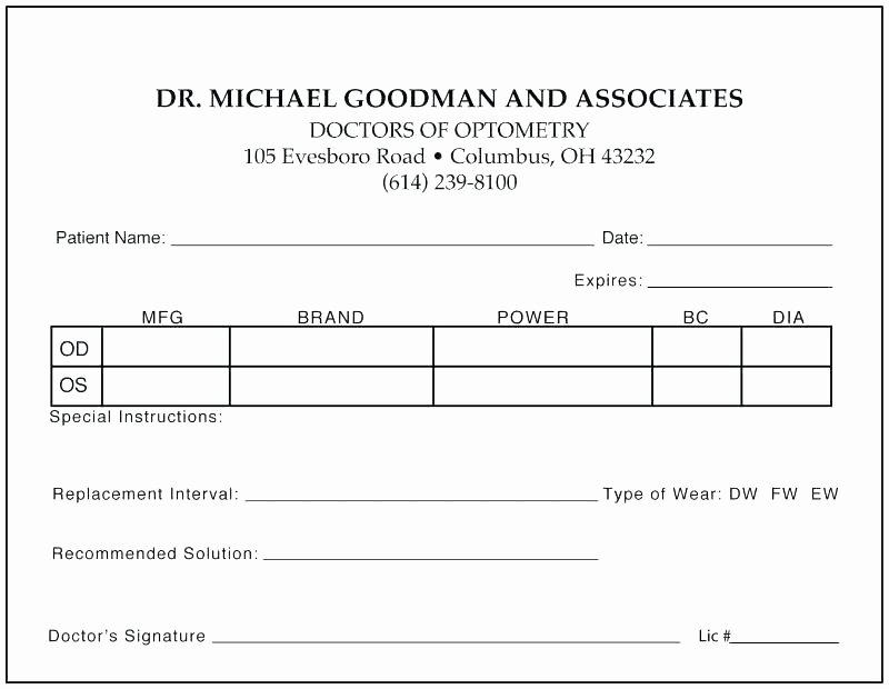 Prescription Pad Template Pdf New Veterinary Prescription form Template – Crevis