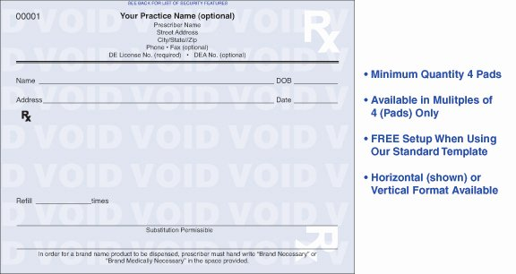 Prescription Pad Template Pdf Unique Prescription format Driverlayer Search Engine