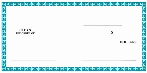 Presentation Checks Template Free Fresh Free Presentation Check Template