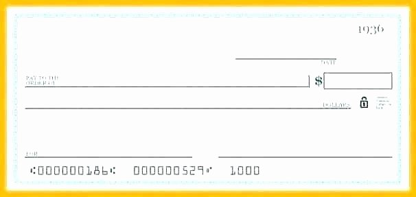 Presentation Checks Template Free Lovely Free Blank Check Template – Hafer