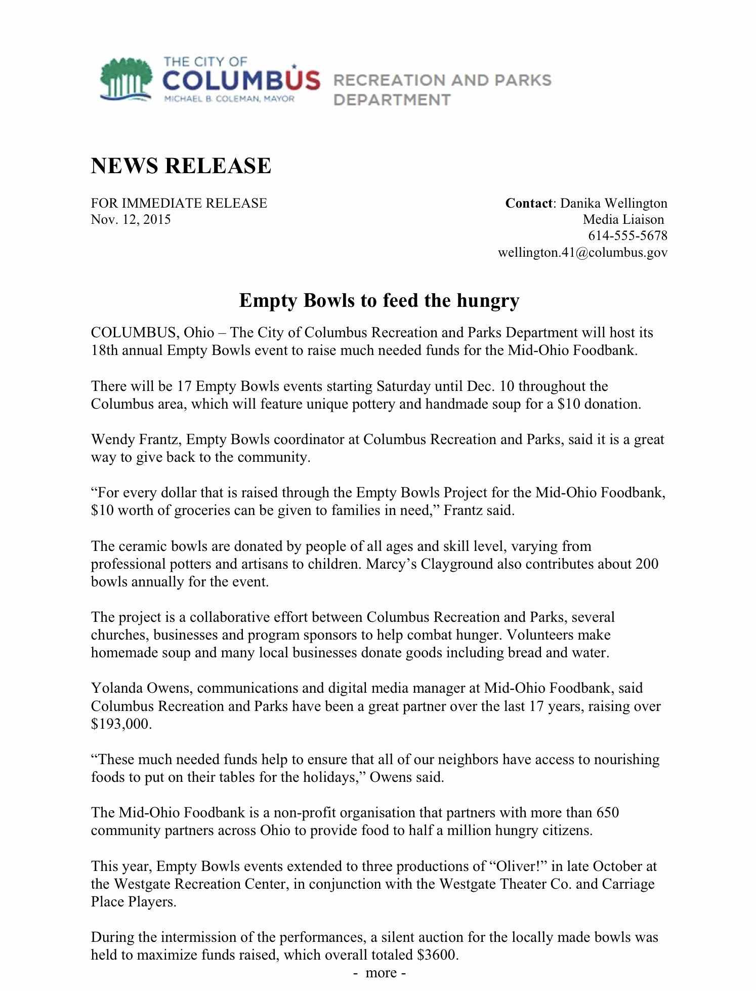 Press Release format Template Fresh Press Release Structure and format – Writing for Strategic