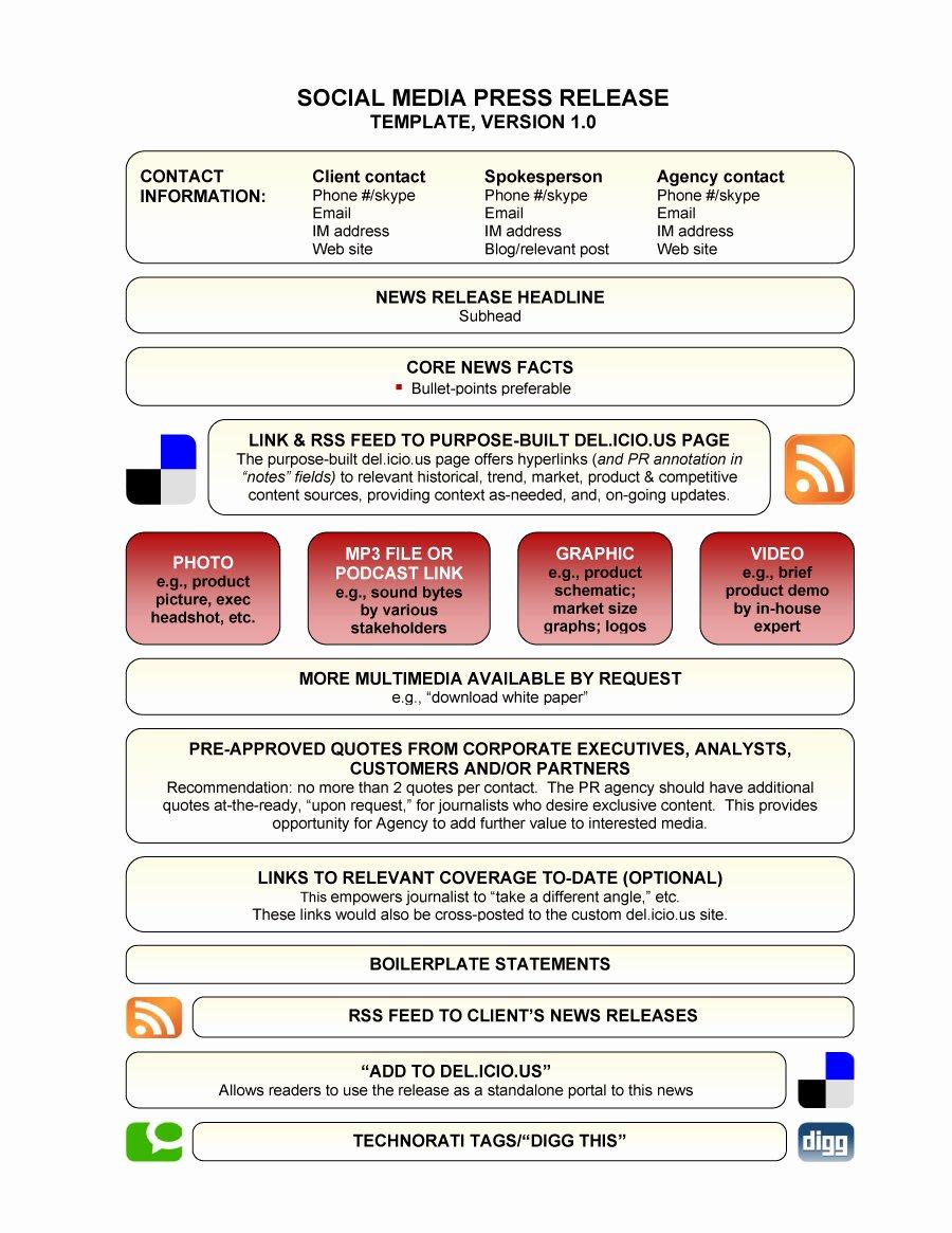 Press Release format Template Inspirational 47 Free Press Release format Templates Examples & Samples