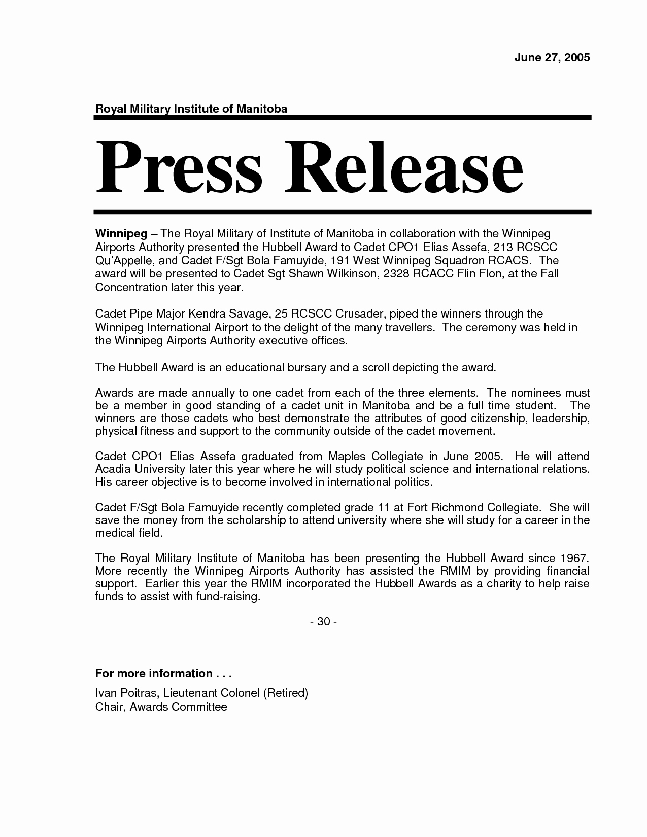 Press Release format Template New 10 Best Of New Pany Press Release New Business