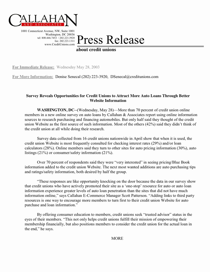 Press Release Template Word Beautiful Press Release Template In Word and Pdf formats