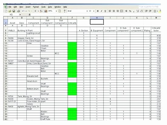 Preventative Maintenance Schedule Template Luxury Vehicle Preventive Maintenance Schedule Template Excel Log
