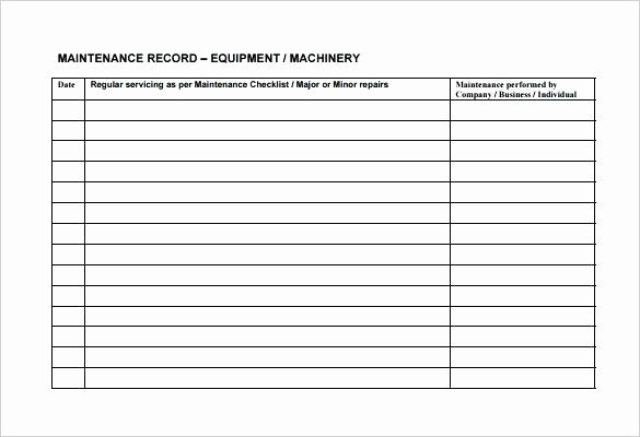 Preventive Maintenance Checklist Template Beautiful Yearly Maintenance Schedule Template – Psychicnights