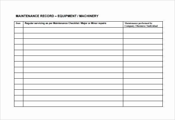Preventive Maintenance Checklist Template Beautiful Yearly Maintenance Schedule Template – Psychicnights