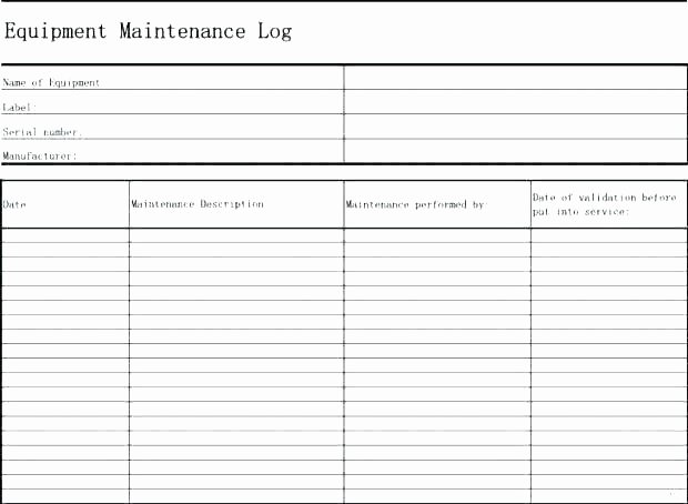Preventive Maintenance Program Template Elegant Building Maintenance Plan Template Download Preventive