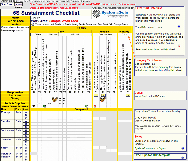 Preventive Maintenance Schedule Template Excel New Free Preventive Maintenance Schedule Template
