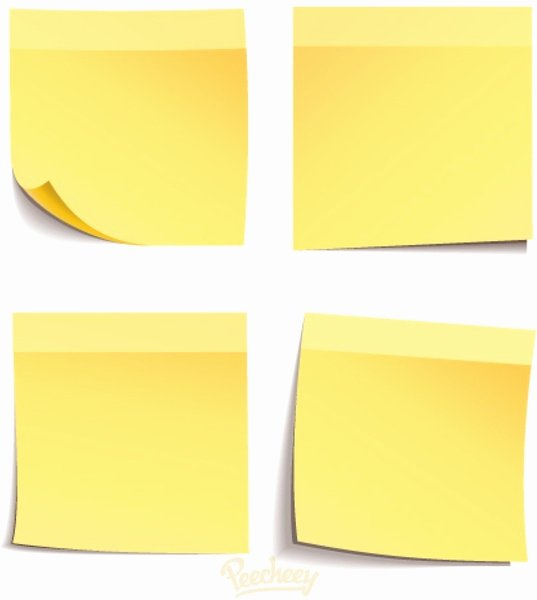 Print On Post It Template Luxury Post It Note Templates Powerpoint Templates Executive
