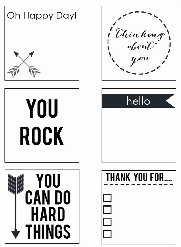 Print On Post It Template New Printable Post It Notes Reasons to Skip the Housework