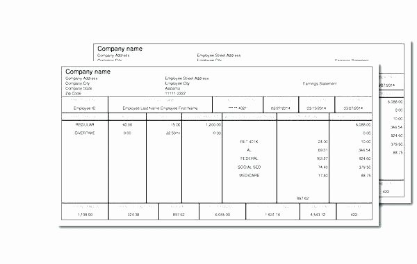 Print Your Own Checks Template Best Of 15 Make Your Own Paycheck Stub Free