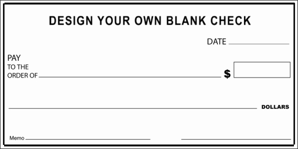 Print Your Own Checks Template Unique How to Make A Check for Presentation