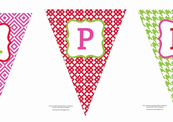 Printable Banner Template Free Awesome Free Printable Birthday Banners Personalized Printable