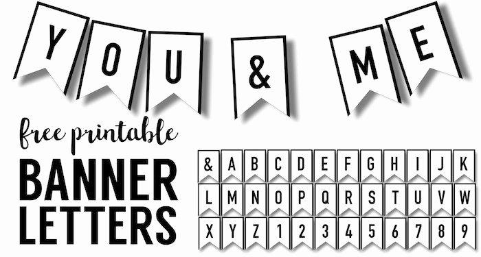 Printable Banner Template Free Elegant Free Printable Alphabet Banner Template