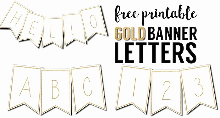 Printable Banner Template Free Elegant Free Printable Banner Letters Templates Paper Trail Design