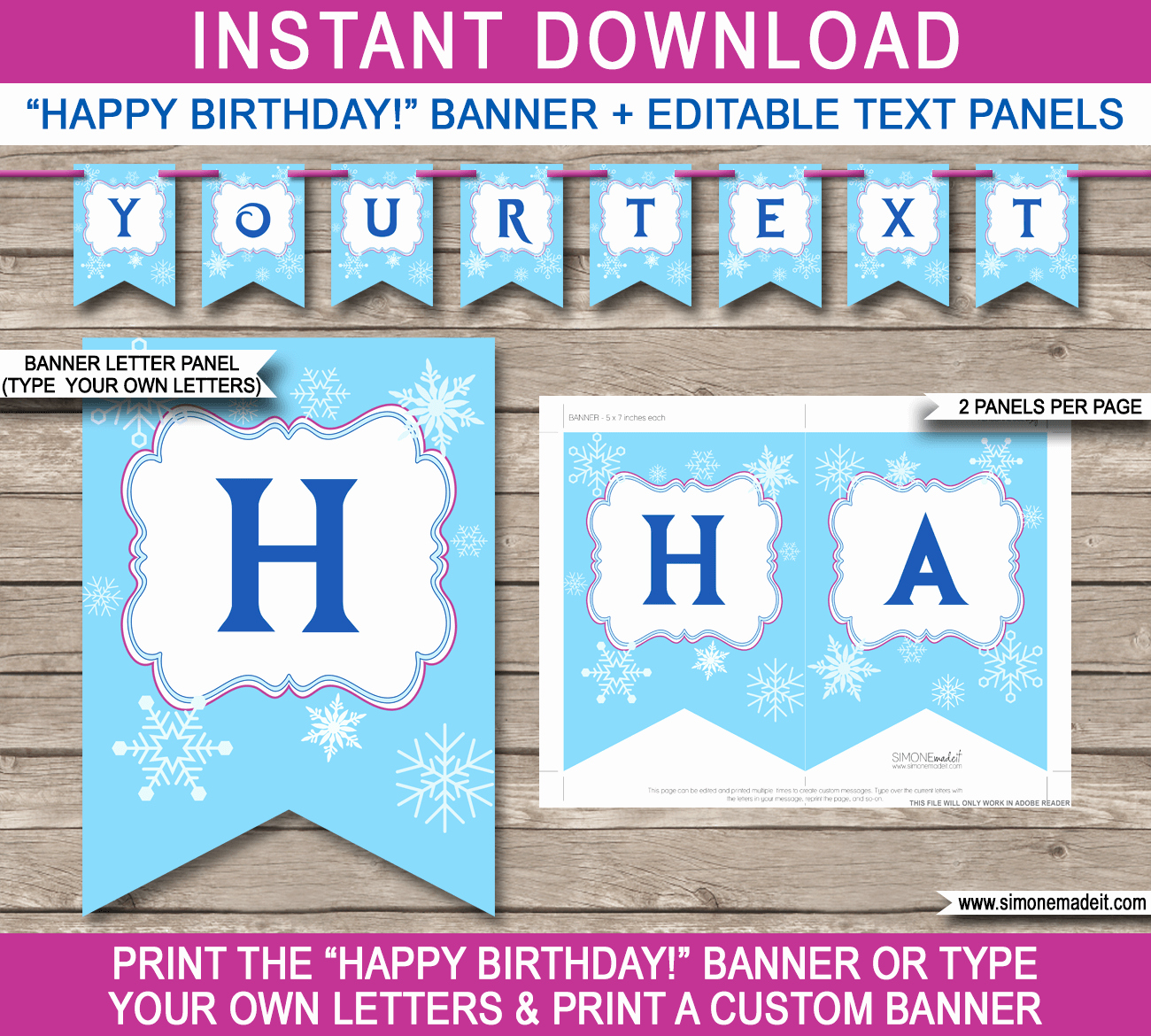 Printable Banner Template Free Fresh Happy Birthday Banner Template Printable Printable 360