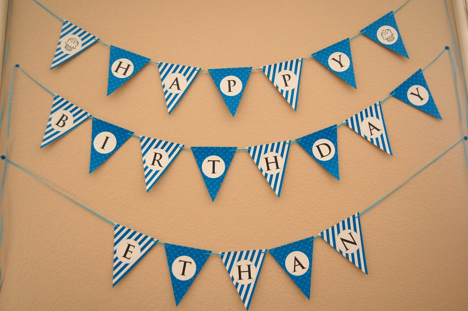 Printable Birthday Banner Template Awesome Flipawoo Invitation and Party Designs Happy Birthday