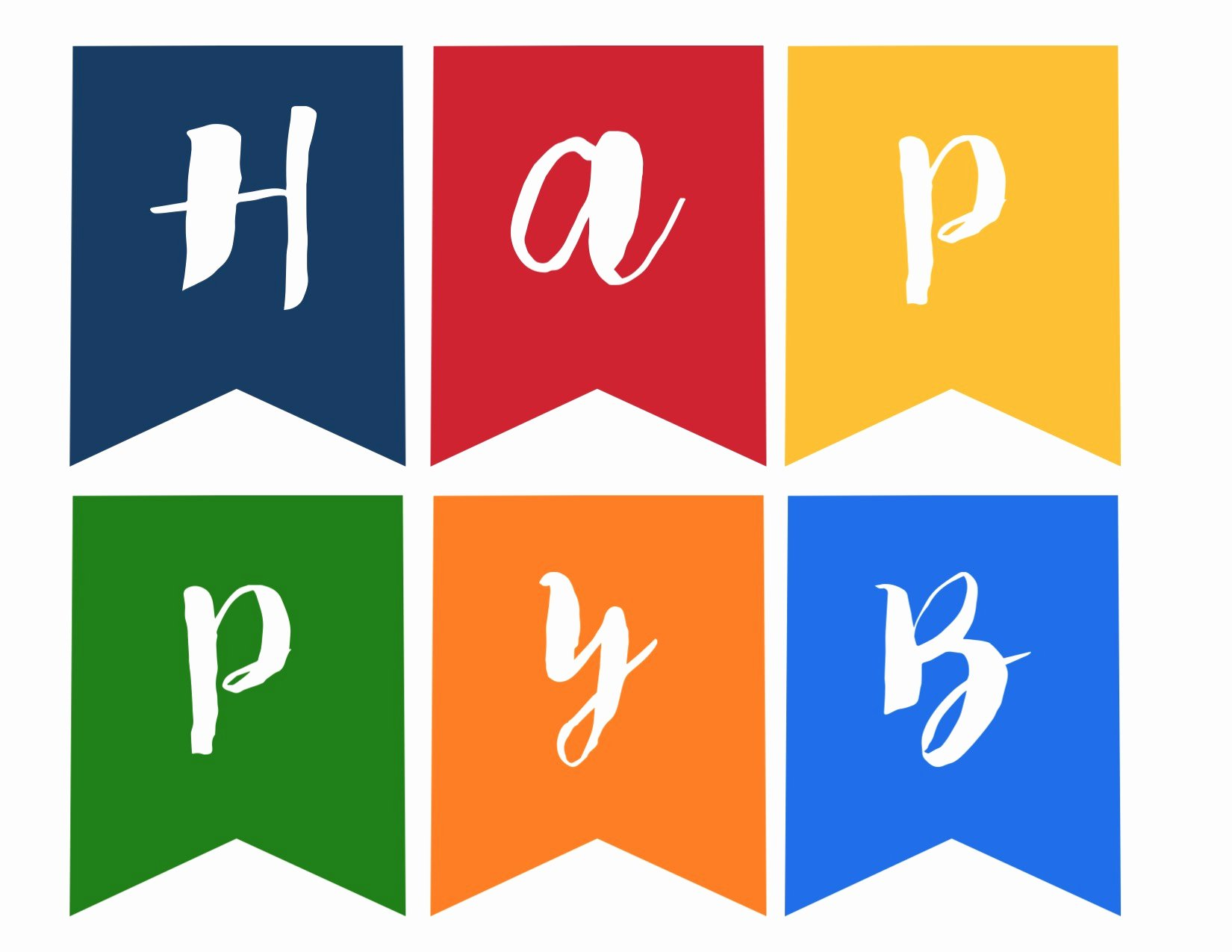 Printable Birthday Banner Template Awesome Happy Birthday Banner Free Printable Paper Trail Design