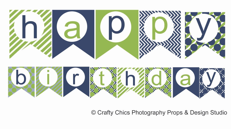 Printable Birthday Banner Template Best Of Happy Birthday Banner Template Printable