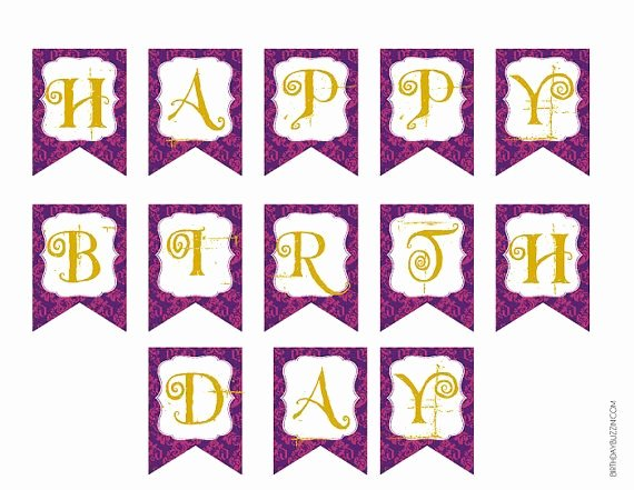 Printable Birthday Banner Template Unique 301 Moved Permanently