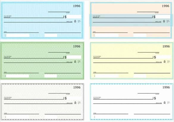 Printable Blank Check Template Awesome 24 Blank Check Template Doc Psd Pdf & Vector formats