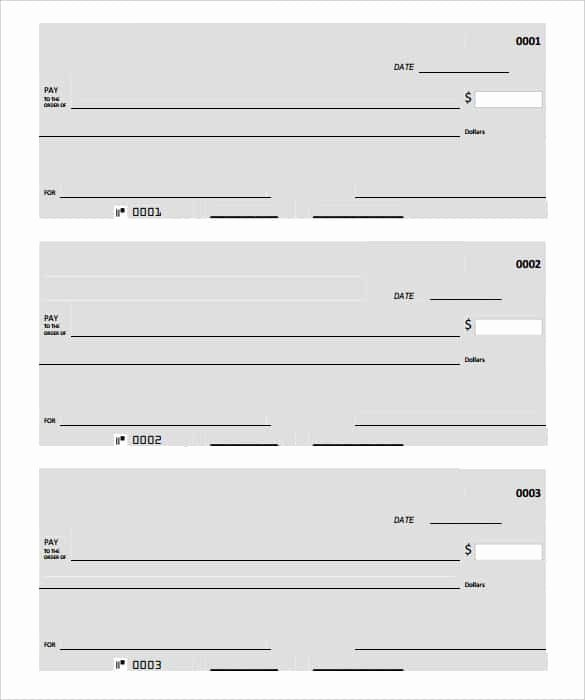 Printable Blank Check Template Beautiful 24 Blank Check Template Doc Psd Pdf & Vector formats