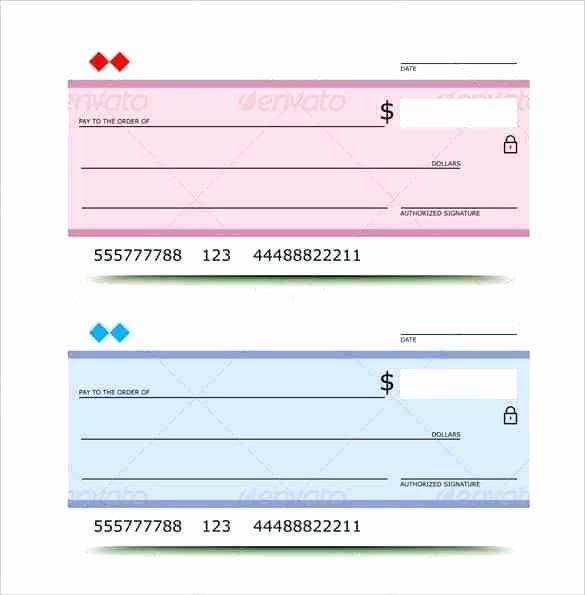 printable fake checks blank template play for kids check and plays students