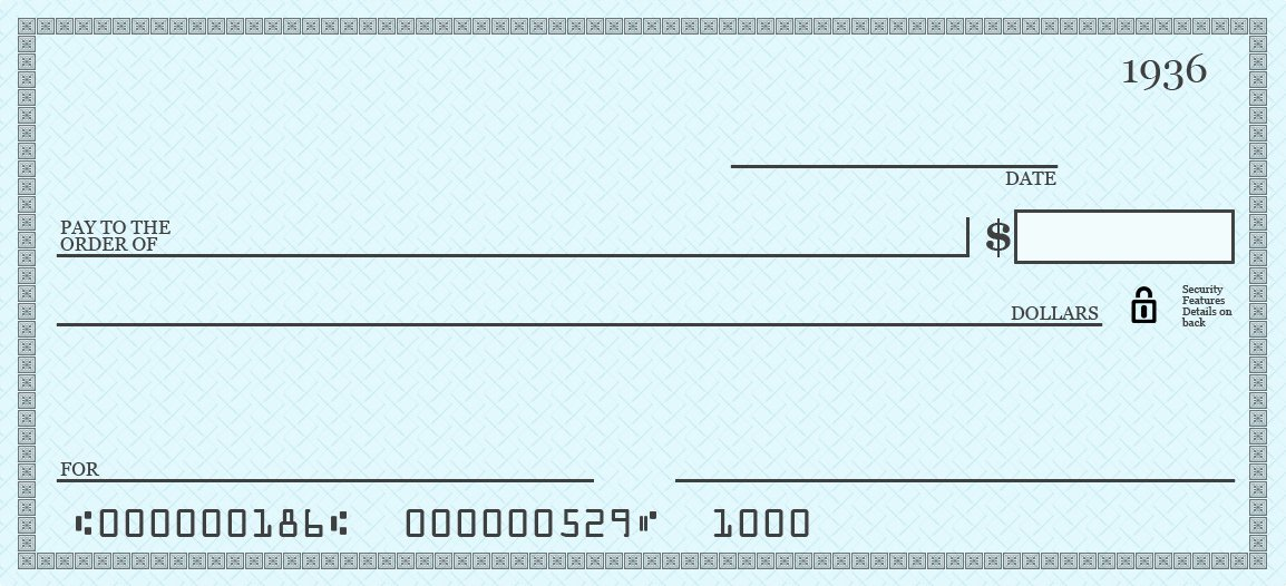 Printable Blank Check Template Unique Free Printable Blank Check Template