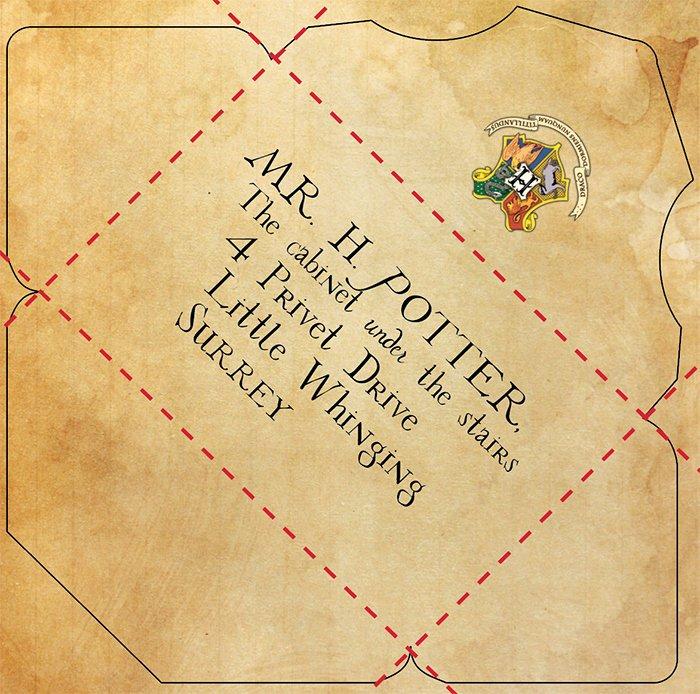 Printable Envelope Template Pdf Awesome Diy Hogwarts Letter and Harry Potter Envelope and Hogwarts