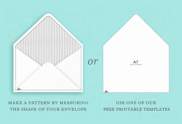 Printable Envelope Template Pdf Best Of 9 A7 Envelope Templates Doc Psd Pdf