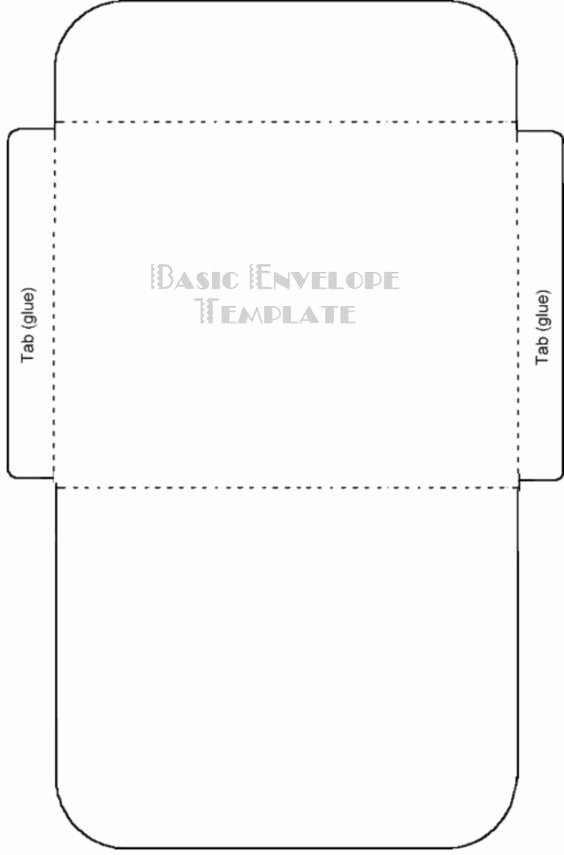Printable Envelope Template Pdf Lovely Free Printable Card Envelope Templates