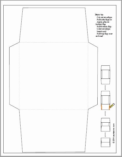 Printable Envelope Template Pdf Luxury 29 Free Printable Envelope Templates Microsoft Fice